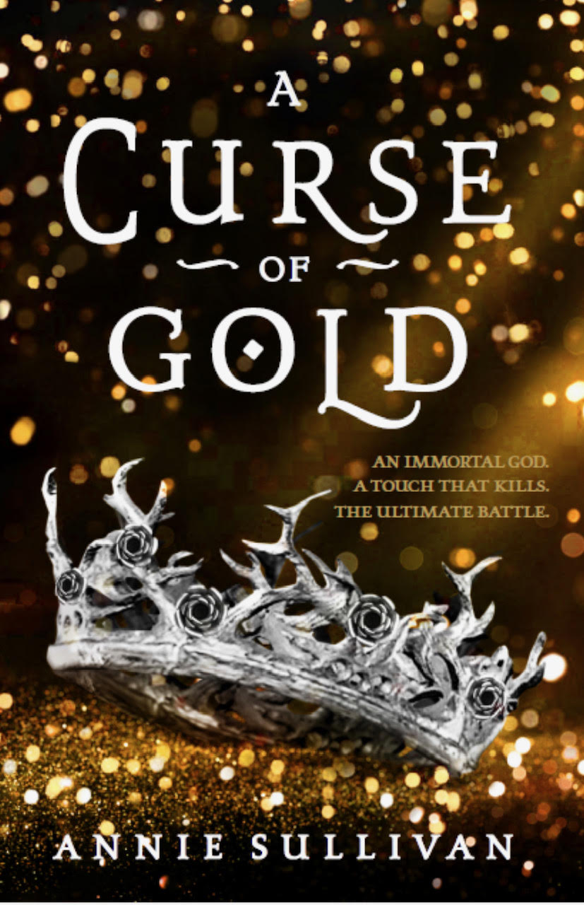 A CURSE OF GOLD cover